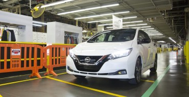 2018 Nissan LEAF Production Officially Underway in Smyrna, Deliveries to Start in January