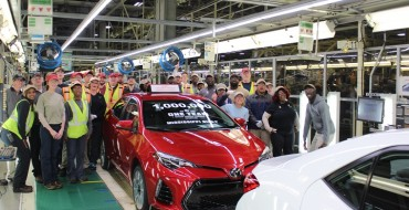 Toyota Produces One Millionth Corolla in Mississippi
