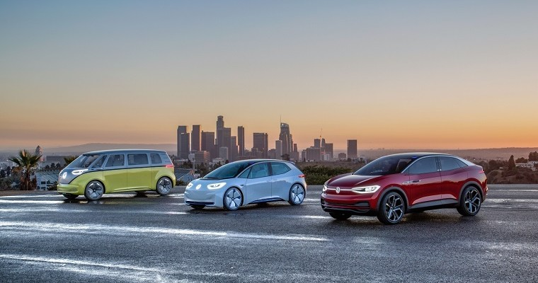 Volkswagen Outlines Plan for Electric Future at LA Auto Show