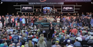 Liquid Blue Ford GT, VIN 001 Mustang Bullitt Raise $2.85 Million for Charity at Barrett-Jackson Scottsdale