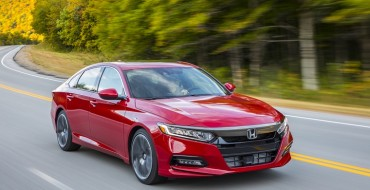 Honda Halts 2018 Accord Production for Two Weeks