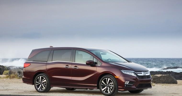 Honda Odyssey Wins Cabin Tech of the Year Award