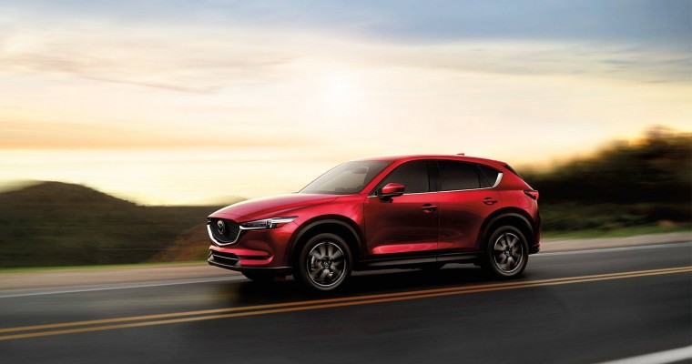 2018 Mazda CX-5 a Top Safety Pick+ IIHS Recipient