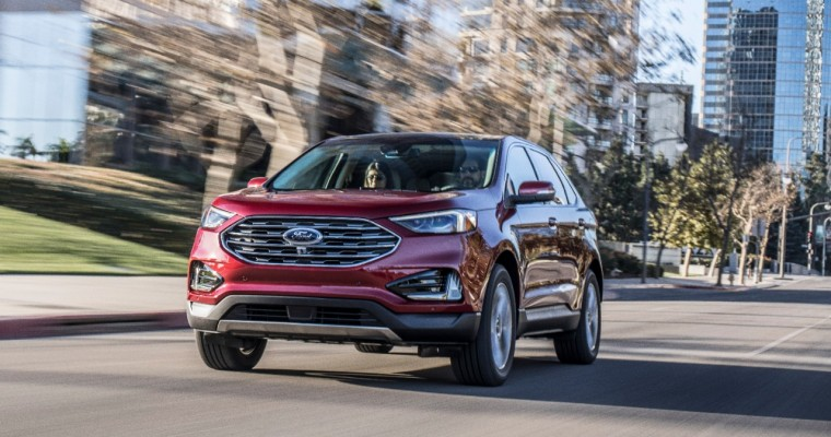 2019 Ford Edge Picks Up IIHS Top Safety Pick