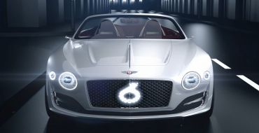 Bentley's EXP 12 Speed 6e Concept Wins Good Design Award