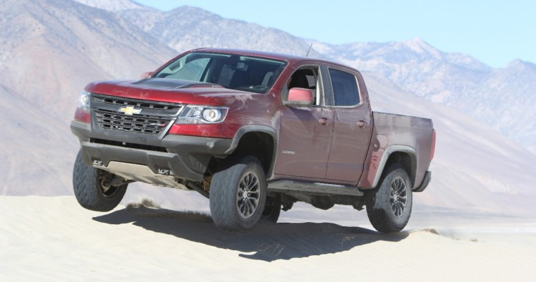 FOUR WHEELER Names 2018 Chevrolet Colorado ZR2 Pickup Truck of the Year