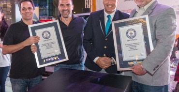 Chevrolet Middle East Breaks Two Very Specific Guinness World Records in December