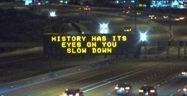 Arizona DOT Gets Hip With 'Hamilton' Signs