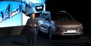 Hyundai NEXO Fuel Cell Crossover Revealed at CES 2018 [PHOTO GALLERY]