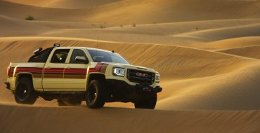 GMC Desert Fox Concept Truck Makes Appearance at IGN Convention in Dubai