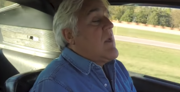 Watch Jay Leno Mouth-Breathe and Squint at the Wheel of the 2019 Mustang Bullitt and Original Bullitt Mustang Hero Car