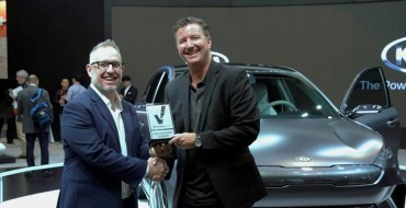 Kia Concept Niro EV Earns Award at 2018 Consumer Electronics Show