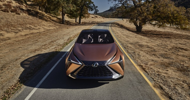 Lexus LF-1 Limitless Concept Shown Off at INTERSECT