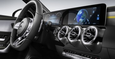Mercedes-Benz Reveals New Infotainment Technology at CES 2018