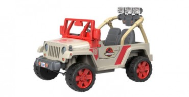 "Power Wheels Goes Prehistoric with a ""Jurassic Park"" Jeep Model"