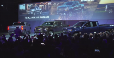 [PHOTOS] 2019 Chevrolet Silverado 1500 Will Be Up to 450 Pounds Lighter, Offered with 3.0-Liter Duramax Turbo-Diesel