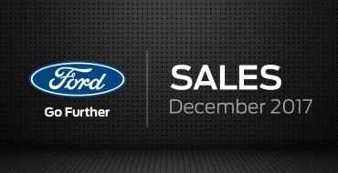 Ford is Canada's Best-Selling Auto Brand for a Ninth Year; F-Series is Best-Selling Vehicle Overall for Eighth Year