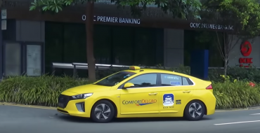 Hybrid Taxi Trend Continues to Thrive in Singapore