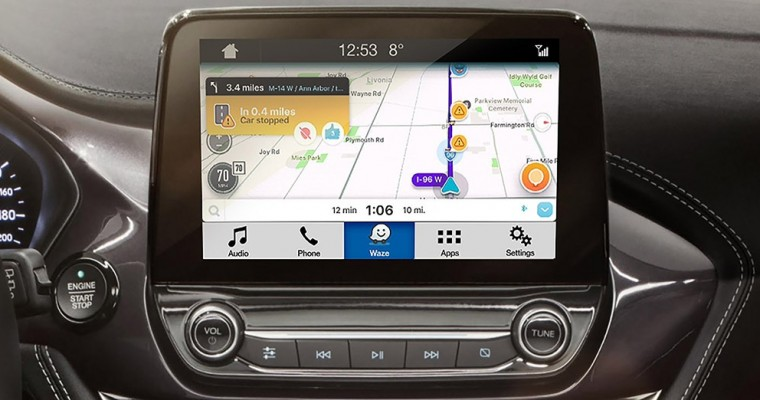 Ford SYNC AppLink Lets You Project Waze Onto Your Vehicle's Touchscreen
