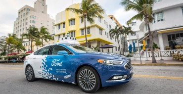 Ford Announces Miami as Partner City for Autonomous Vehicle Services Pilot
