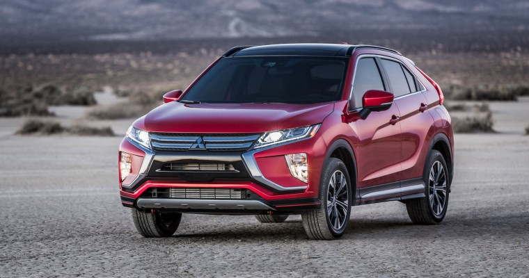 The Mitsubishi Eclipse Cross Wins Numerous Automotive Awards in Russia
