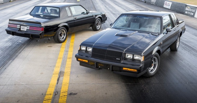 """1987 Buick Grand National X """"Twins"""" Fetch $205K in eBay Auction"""