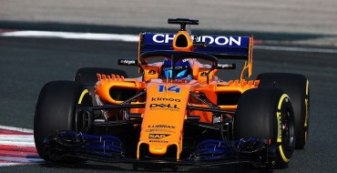 McLaren Launches Very Orange 2018 F1 Car