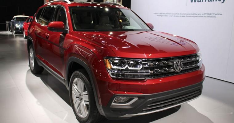 Volkswagen Atlas SUV Hits Production Milestone