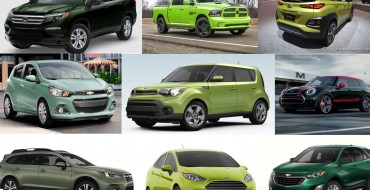 Captivating Car Colors: Which 2018 Models Are Available in Green?