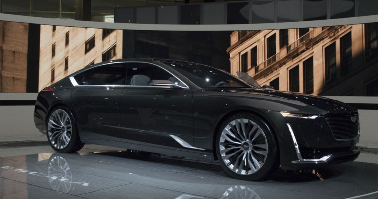 Cadillac Escala Declared the Best Concept Vehicle at the Chicago Auto Show