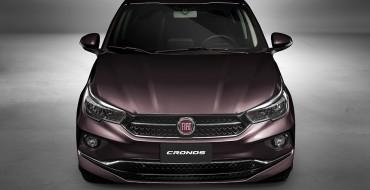 New Fiat Cronos Designed to Compete in Latin America's Compact Sedan Segment