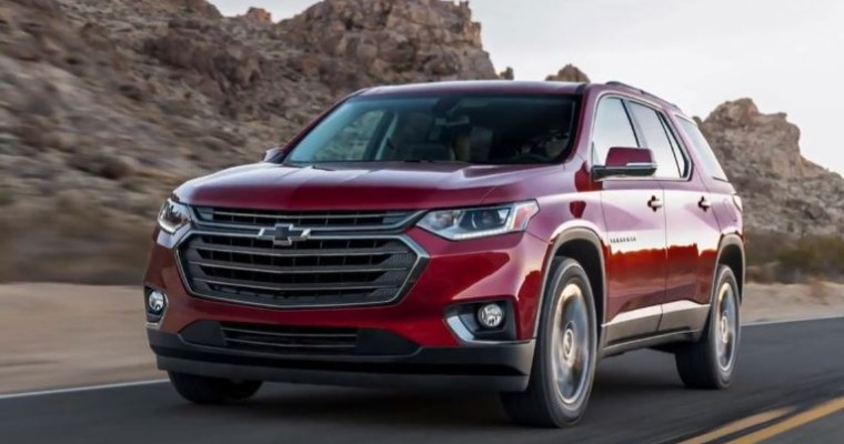 Chevy Traverse RS Introduces More Customization and Vivacity