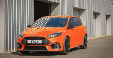 Production of Ford Focus RS Wraps in April with 50-Unit Heritage Edition