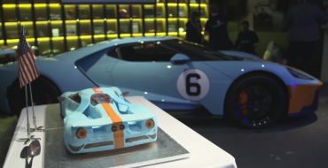First Ford GTs (and a Ford GT Cake!) Arrive in Europe