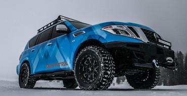 Nissan Reveals Armada Snow Patrol Vehicle at Chicago Auto Show