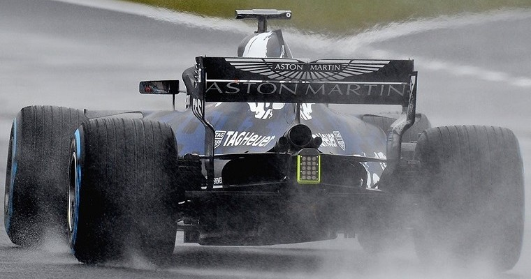 Red Bull Crashes F1 Car during Film Day