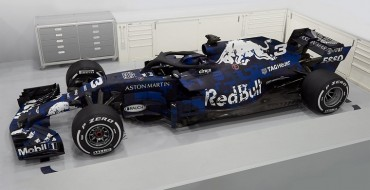 Red Bull RB14 Unveiled with Gorgeous Livery