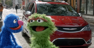 "Latest ""Sesame Street"" Chrysler Ad Pits the Pacifica Against a Literal Trash-Mobile"