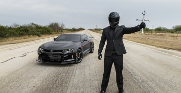 "Hennessey ""Exorcist"" Camaro ZL1 Reaches Top Speed of 217 MPH"