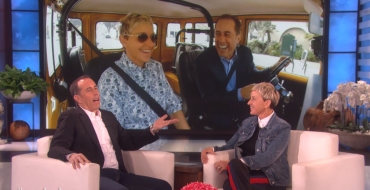 "Jerry Seinfeld and Ellen DeGeneres Debut Preview for Upcoming Episode of ""Comedians in Cars Getting Coffee"""