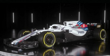 Williams Martini Racing Launches 2018 F1 Challenger
