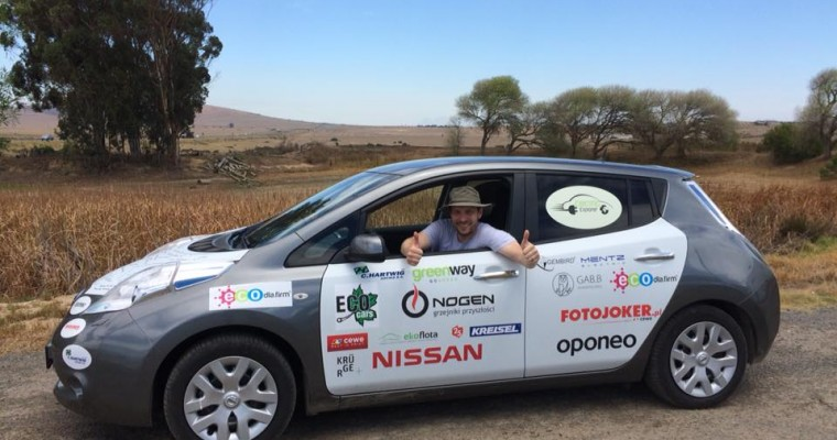 Plucky Nissan Leaf Heads Out On African Adventure