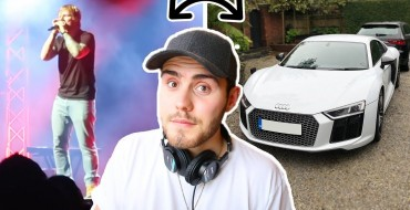 Alfie Deyes Shows Off His New Loaner Audi R8