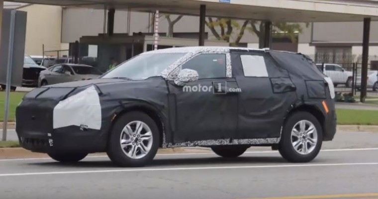 2019 Chevy Blazer Spy Shots