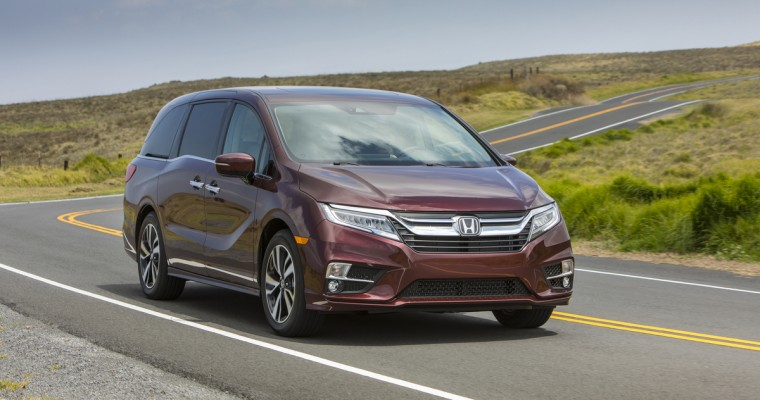Honda Odyssey and CR-V are the Best Cars for Families
