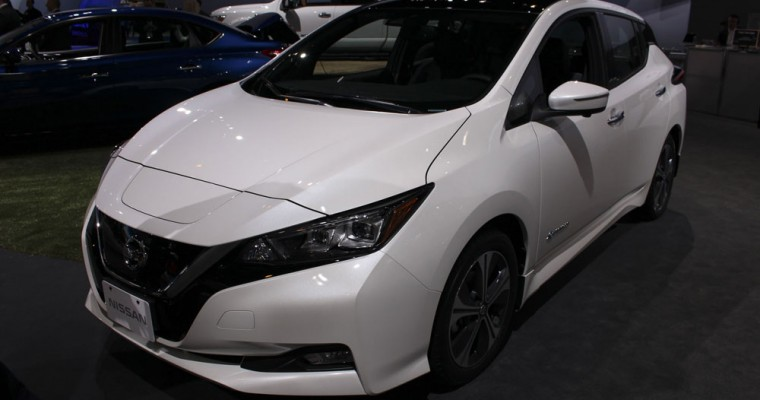Nissan LEAF Owners in Japan Can Trade In Old Batteries with New Program