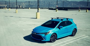 All-New 2019 Toyota Corolla Hatchback Debuts in New York