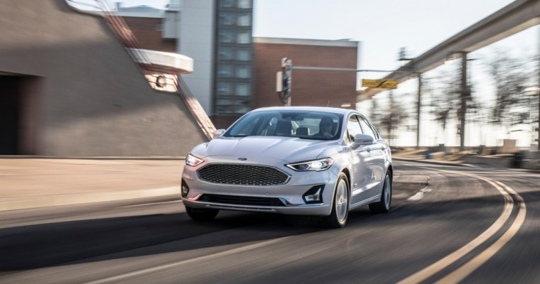 [Photos] Redesigned 2019 Ford Fusion to Launch Ford Co-Pilot360; Fusion Energi Sees Range Improvements
