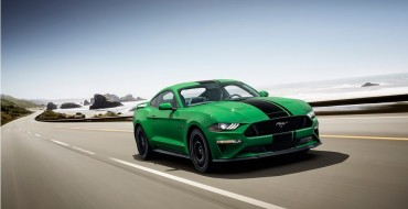 2019 Ford Mustang Gets New Need for Green Exterior Color, Rendering It Unpinchable