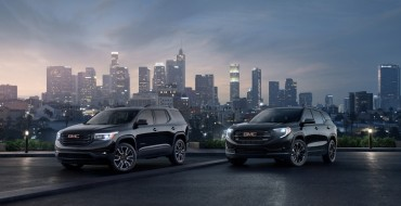 "GMC Introduces Customizable ""Black Editions"" for Terrain and Acadia"